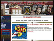 Tablet Preview of cheltenhamfirecompany.org